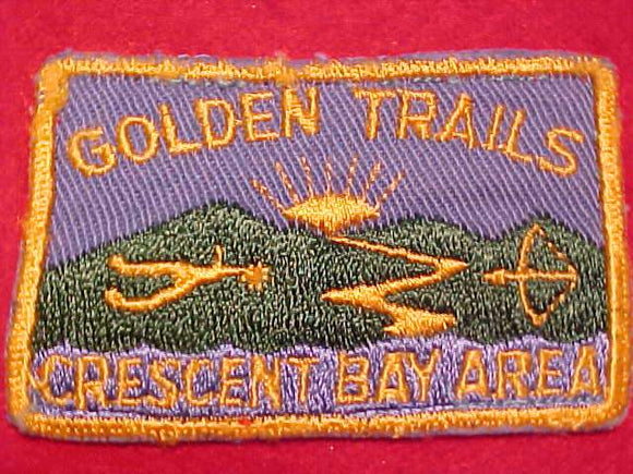 GOLDEN TRAILS DISTRICT PATCH, CRESCENT BAY AREA C., USED