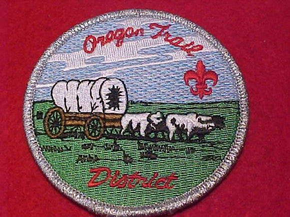 OREGON TRAIL DISTRICT PATCH