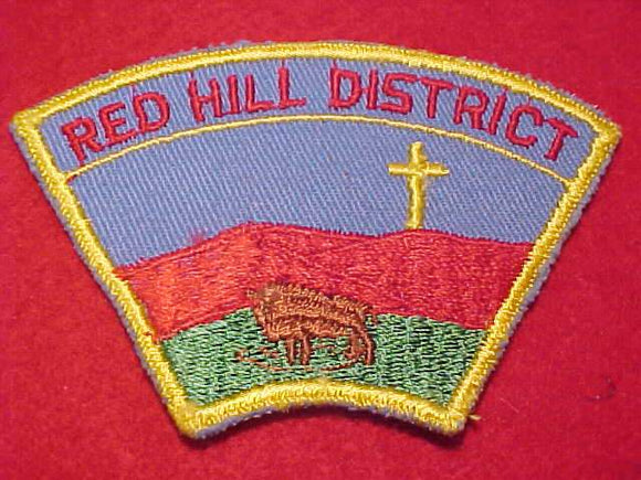 RED HILL DISTRICT PATCH