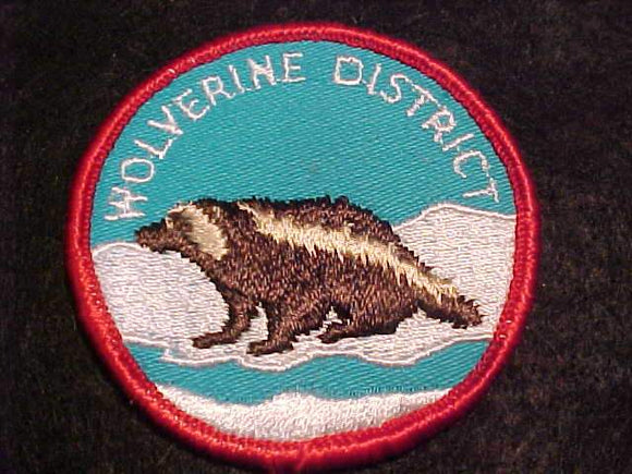 WOLVERINE DISTRICT PATCH