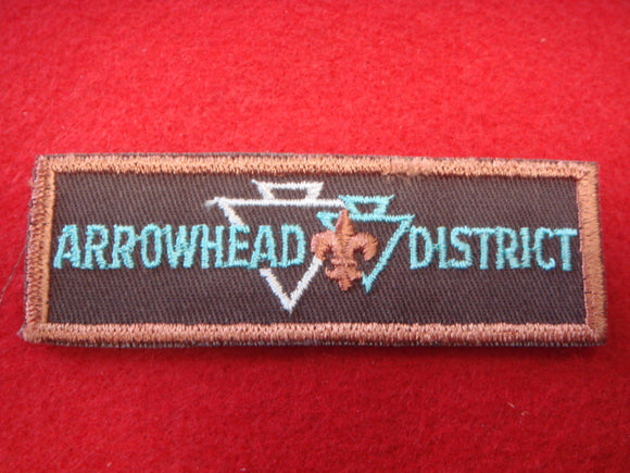 Arrowhead District Central Florida Council