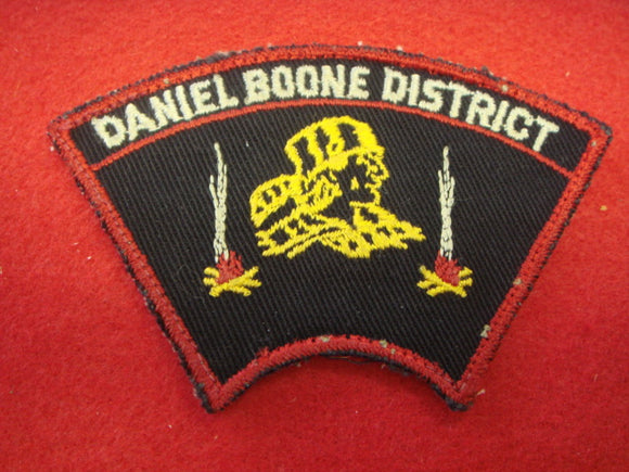 Daniel Boone District 1950's Used