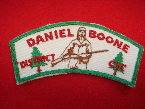 Daniel Boone District Central Indiana Council
