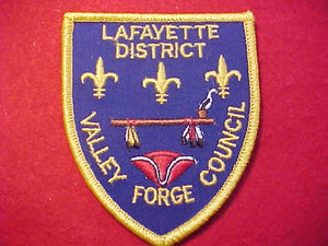 LAFAYETTE DISTRICT, VALLEY FORGE C.