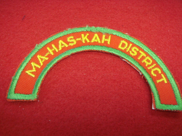Ma-Has-Kah District