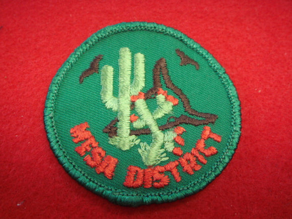 Mesa District, Used.