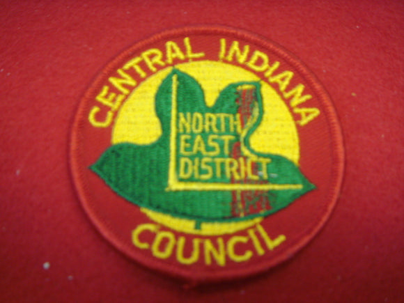 Northeast District Central Indiana Council