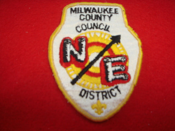 Northeast District Milwakukee County Council Used