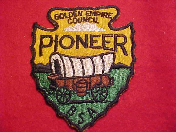 PIONEER DISTRICT, GOLDEN EMPIRE C., BLACK BDR.