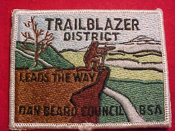 TRAILBLAZER DISTRICT, DAN BEARD C.
