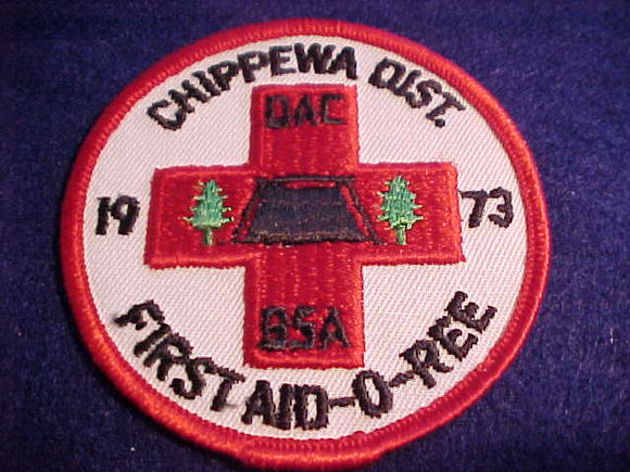 1973, DETROIT AREA C., CHIPPAWA DISTRICT FIRST AID-O-REE