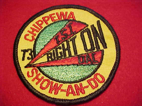 1973, DETROIT AREA C., CHIPPEWA DISTRICT SHOW-AN-SO
