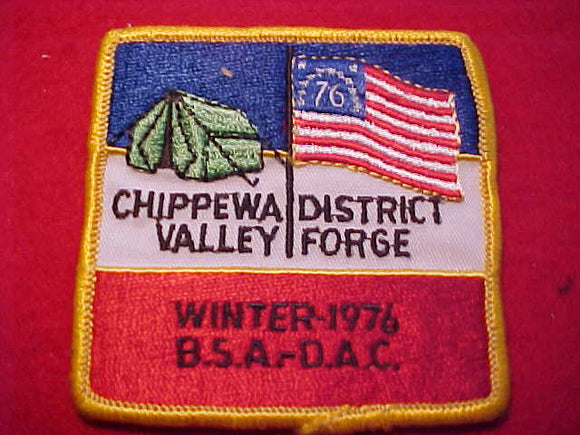 1976, DETROIT AREA C., CHIPPEWA DISTRICT WINTER VALLEY FORGE