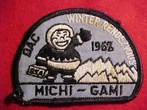 1968 DETROIT AREA C., MICHI-GAMI, WINTER RENDEZVOUS, USED