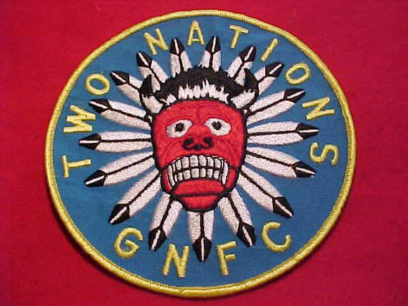 TWO NATIONS DISTRICT JACKET PATCH, GREATER NIAGARA FRONTIER C., 6