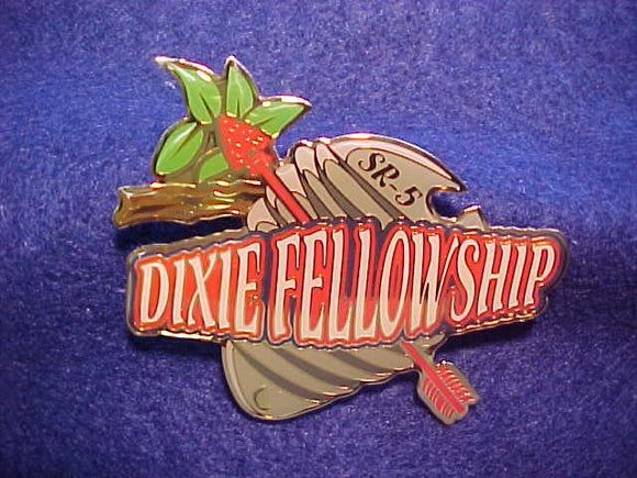 2004 SECTION SR-5 DIXIE FELLOWSHIP PARTICIPATION PIN,1/SCOUT