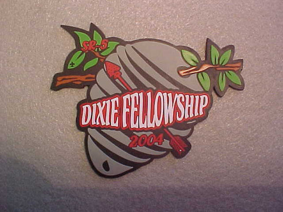 2004 SECTION SR-5 DIXIE FELLOWSHIP,RUBBER PATCH
