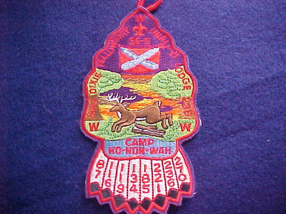 1989 SECTION SE3B DIXIE FELLOWSHIP PATCH