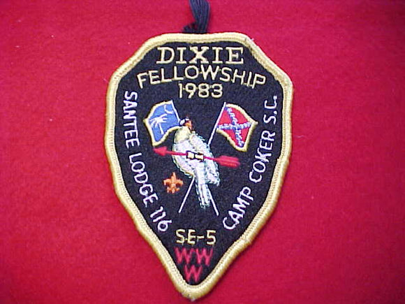 1983 SECTION SE-5, DIXIE FELLOWSHIP