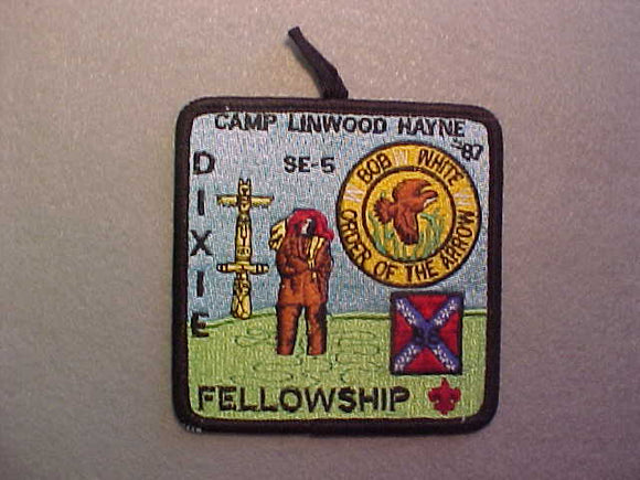 1986 SECTION SE-5 DIXIE FELLOWSHIP, W/ BUTTON LOOP