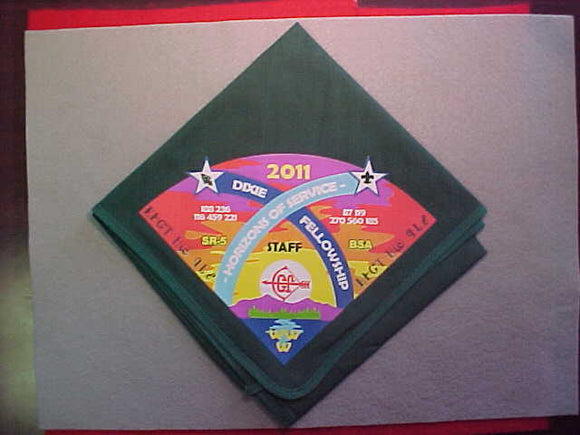 2011 SECTION SR-5 DIXIE FELLOWSHIP STAFF NECKERCHIEF