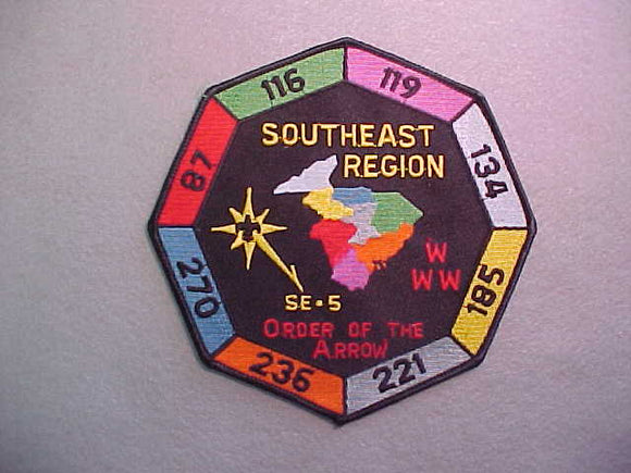 1990 SECTION SE-5 JACKET PATCH