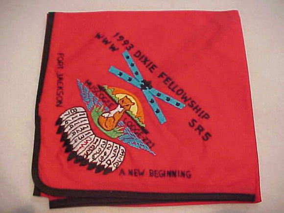 1993 DIXIE FELLOWSHIP N/C, SECTION SR5, MUSCOGEE LODGE 221, FORT JACKSON