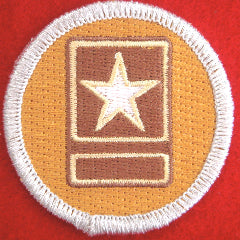 Army patrol medallion