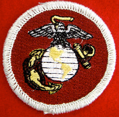 Marines patrol medallion