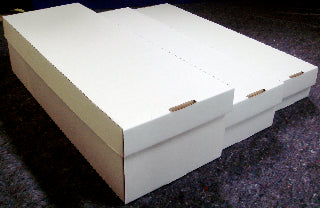 White box - 3x6 storage (CASE OF 10 BOXES)