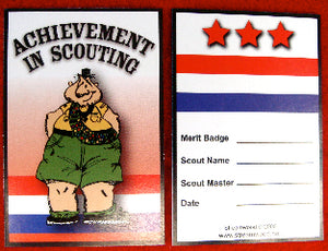 Chubby scout pocket card