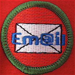 Emailing spoof merit badge