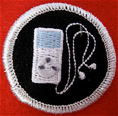 iPodding spoof merit badge