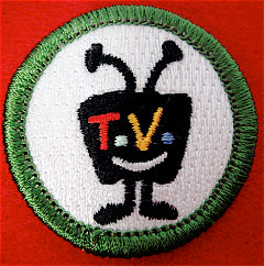 TeVo spoof merit badge