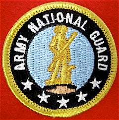 US Army National Guard Patrol Medallion