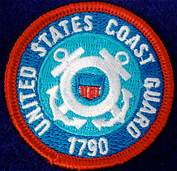 US Coast Guard Patrol Medallion
