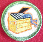 dumpster diving spoof merit badge