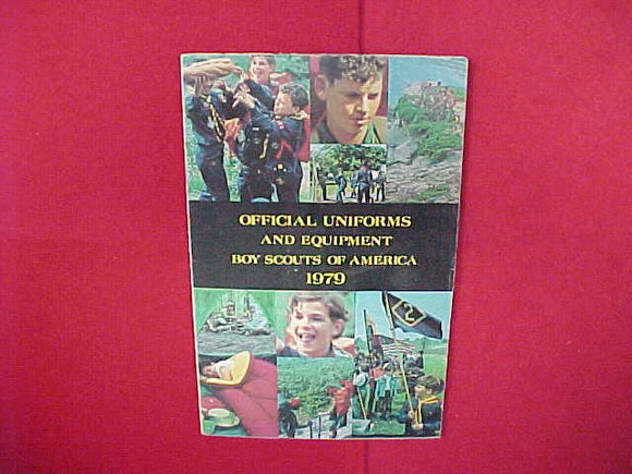 1979 OFFICIAL UNIFORMS AND EQUIPMENT,BSA,5.5
