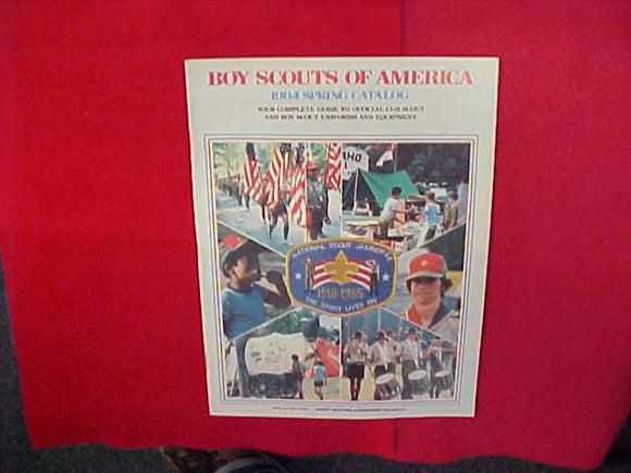 1984 BSA CUB SCOUT AND BOY SCOUT UNIFORMS AND EQUIPMENT,8.5 X 11,48 PAGES