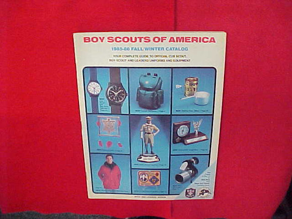 1985 BSA CUB SCOUT,BOY SCOUT AND LEADERS UNIFORMS AND EQUIPMENT,8.5 X 11,46 PAGES