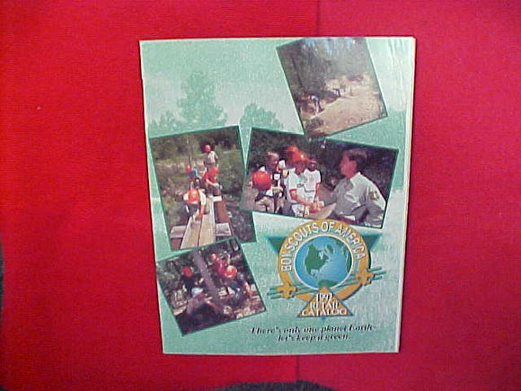 1992 BOY SCOUTS OF AMERICA RETAIL CATALOG,8.5 X 11,107 PAGES