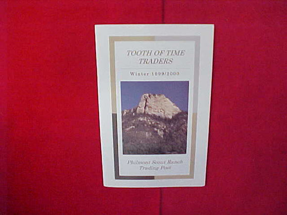 1999-2000 PHILMONT TOOTH OF TIME TRADERS CATALOG,5.5