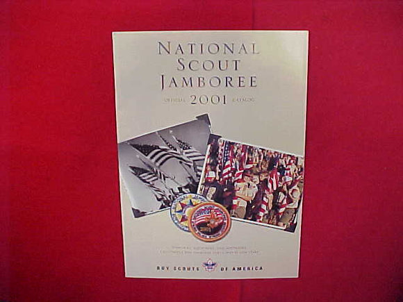 2001 NATIONAL SCOUT JAMBOREE OFFICIAL CATALOG,8.5