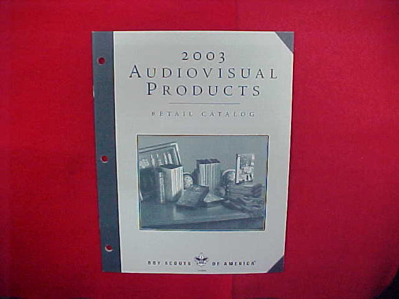 2003 LIBRARY OF LITERATURE/AUDIOVISUAL PRODUCTS RETAIL CATALOG,BSA,8.5
