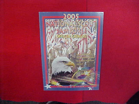 2005 NATIONAL SCOUT JAMBOREE OFFICIAL CATALOG,8.5 X 11,48 PAGES