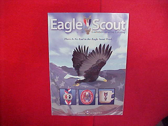 2006 EAGLE SCOUT COMMEMORATIVE CATALOG,8.5 X 11,14 PAGES