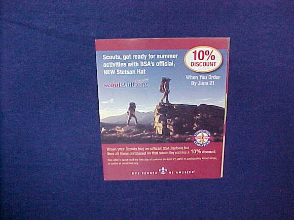 2006 BSA STETSON/SALE BROCHURE,5.5