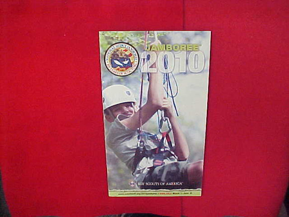 2010 NATIONAL SCOUT JAMBOREE CATALOG,6 X 10.5,54 PAGES