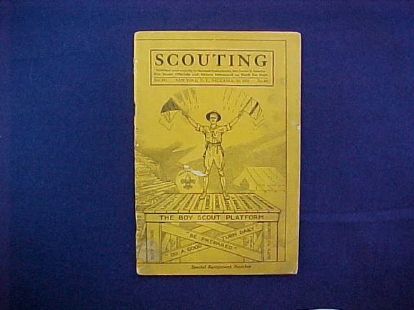 DECEMBER 1916 SCOUTING EQUIPMENT NUMBER CATALOG, 5.5
