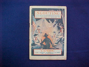 "MAY 1917 SCOUTING EQUIPMENT NUMBER CATALOG, 5.5"" X 8"", 128 PAGES, VERY GOOD CONDITION"